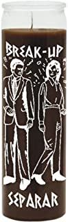 Break Up Brown Candle - Silkscreen 1 Color 7 Day