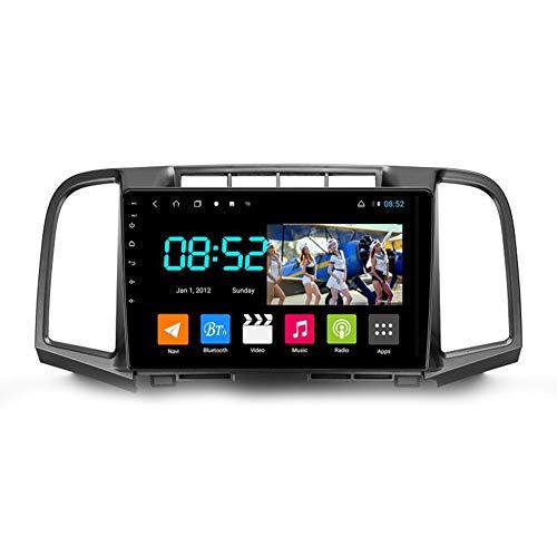 Autoradio 2 Din Android Con Bluetooth Per Auto 9'' IPS Touchscreen Wifi Plug And Play Completo RCA SWC Supporto Carautoplay/GPS/DAB+/OBDII Per Toyota Venza 2008-2016,Octa core,4G Wifi 2G+32G