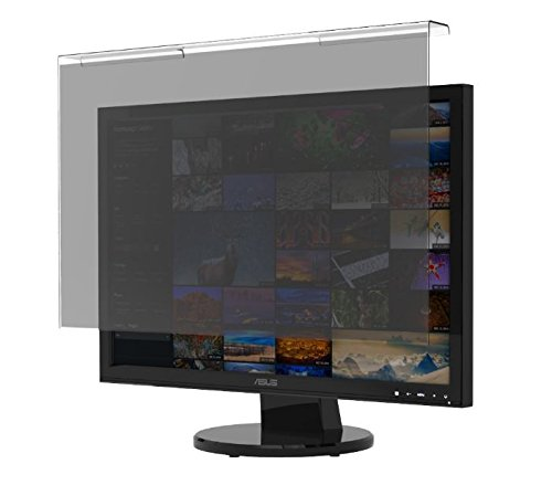 """BesLif 24"""" W to 23.8"""" W, 23.6"""" W to 23"""" W Hanging Privacy Filter Screen Protector Film Widescreen Monitor (22.04 x 14.17 inch = 560 x 360 mm) - Monitor Frame Hanging Type"""