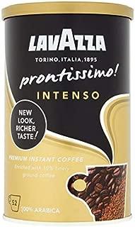 Lavazza Prontissimo Intenso Instant Coffee, Medium Roast, 95 g