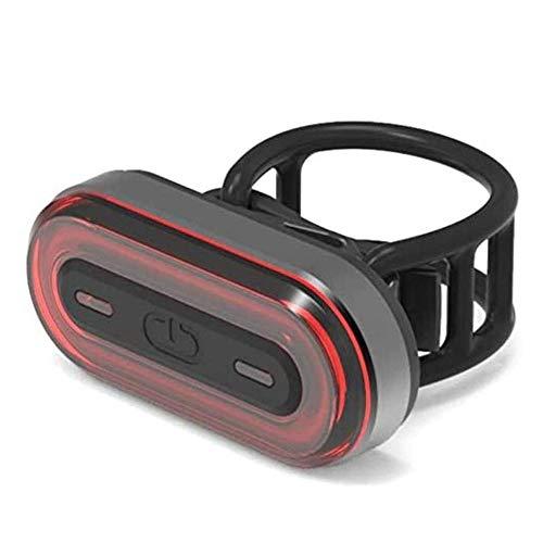 ZBQLKM Se adapta USB Smart Bike de la luz trasera luz trasera Luz de freno automático recargable Caja de luz intermitentes en cualquier carretera de bicicletas, bicicletas cola Noche de las luces Ridi