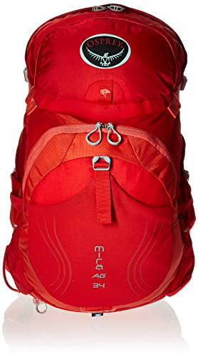 Osprey Packs Women's Mira AG 34, Cherry Red, X-Small/Small