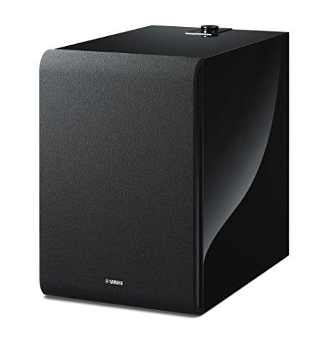Yamaha MusicCast SUB 100 Wireless Subwoofer, Compatible with Alexa - Black