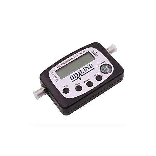 HD-LINE sf-9505A - Localizador para equipos por satélites, negro (importado)