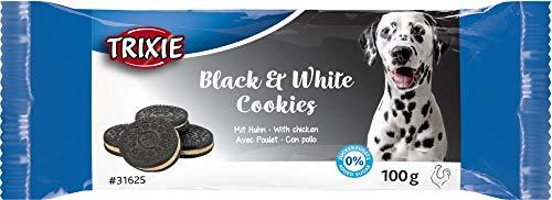 TRIXIE Hundekekse Black & White Cookies 100 g Hundeleckerli Hundesnack Hundekeks