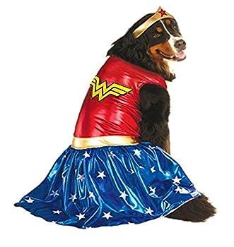 Rubie s Big Dog Wonder Woman Dog Costume
