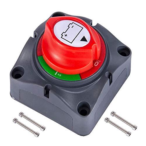 Battery Isolator Switch,RoadLoo 2 Pcs Battery Power Cut Off Switch 12V-48V Battery...