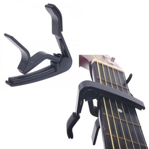 Generic-Guitar-Capo-Aluminum-Alloy-Quick-Ch-Clamp-Capo-for-6-String-Acoustic-Folk-Classical-Electric-Guitar-Black