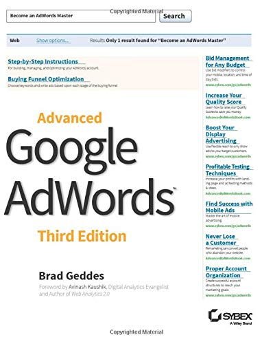 Advanced Google AdWords, 3rd Edition