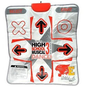 High School Musical 3 Dance Pad/Mat for the Playstation 2 (Mat Only) PS2 by Disney