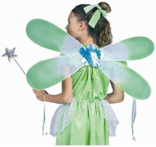 RG Costumes Fairy Pixie Wings Costume Accessory, 24'', Grün by RG Costumes