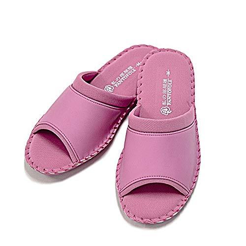 [パンジー] スリッパ ルームシューズ 8686 ローズ M(23.0-23.5) メッシュ 室内履き パントフォーレ レディース 婦人用 静音設計 母の日