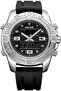 Megir Sport Watch For Men Analog-Digital Silicone - 8302