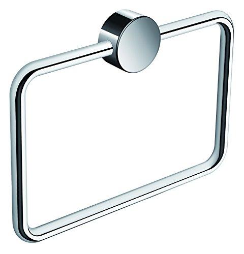 HEWI Handtuchring eckig (Handtuchhalter) schwenkbar, verchromt, BxH 200 x 145 mm, 815.09.300