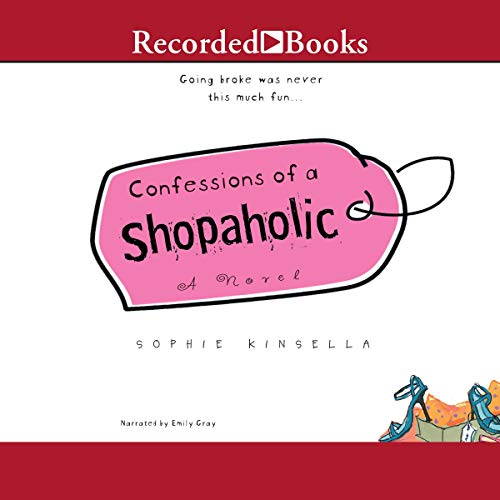 Confessions of a Shopaholic audiobook cover art