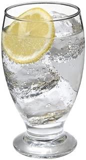 SET of 4-pc Luminarc 'Lexington' 12 Oz Crystal-Clear Water Goblets, Whiskey, Scotch, Cocktail Glasses (12 Oz) (12 Oz)