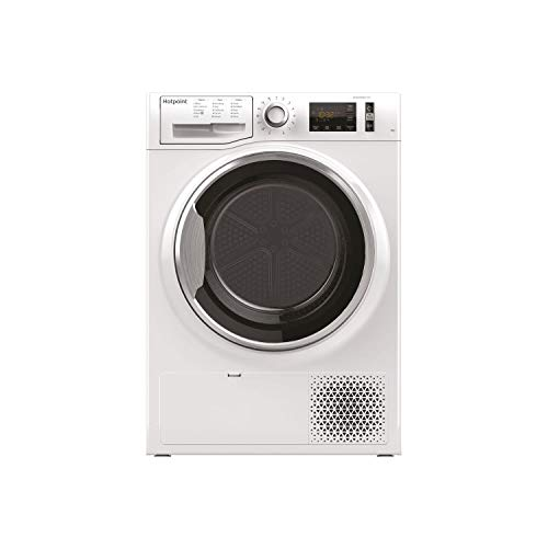Hotpoint NTM1182XB ActiveCare 8kg Freestanding Condenser Tumble Dryer With Heat Pump Tech - White