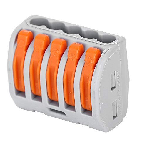 Conectores de iluminación 10 piezas Bloques de terminales Cable eléctrico Alambre de...