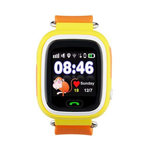 Leotec Smartwatchs Kids Way GPS Naranja LESWKIDS02O