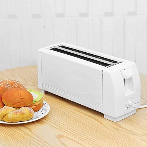Mnjin Haushalts-Elektro-Toasterofen Haushalts-Brotbackautomat Frühstücksmaschinenofen 4 Scheiben mit Bagel, Abbrechen, Abtaufunktion