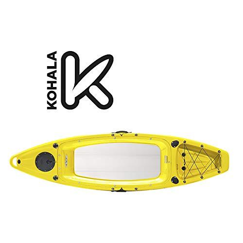 Devessport - Kayak VUE 2 | Kayak para 1 Persona Tipo sito on Top - autovaciable | Fondo Plano | Peso máximo 120 kg