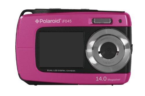 """Polaroid IF045, Cámara Compacta de 14 MP (Pantalla Táctil de 2.7"""", Zoom Óptico 5X), USB, Rosa"""