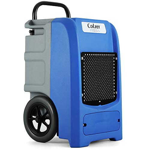 COLZER 190 PPD Commercial Dehumidifier with Pump Large Capacity Rotational Molded Portable Industrial Dehumidifier for Efficient Water Damage Restoration, Flood Clean-Up, Moisture Removal, cETL Listed