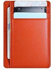 [Handwork Secret] カードケース カード入れ 本革 薄型 RFID ブロッキング 大容量 男女兼用