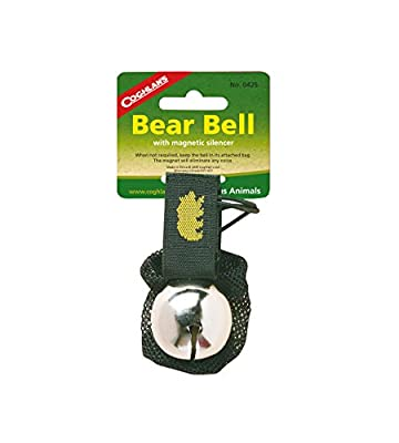 Coghlan's Bear Bell with Magnetic Silencer, Black