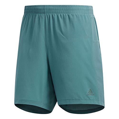 """adidas Supernova Short Pantalones Cortos de Deporte, Verde (Raw Green), M/5"""" para Hombre"""