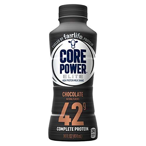 Core Power by fairlife Elite High Protein (42g) Milk Shake, 14 fl oz...