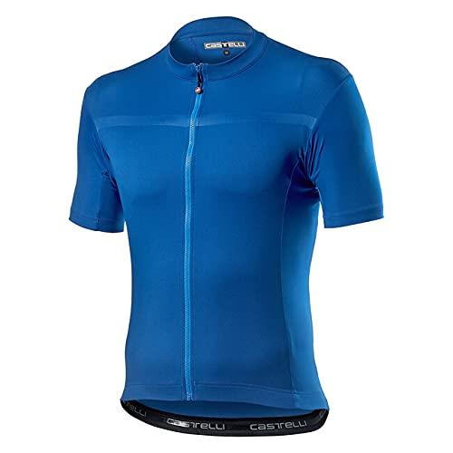 CASTELLI CLASSIFICA Jersey Camiseta, Celeste Italia, XS para Hombre