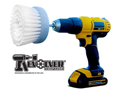 Revolver Drill Brush Power Scrubbing Drill Attachment Multi-Purpose Cleaning Tool