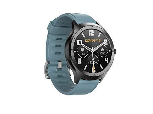HalfSun Smartwatch, Reloj Inteligente Impermeable IP68 para Android iOS, Pulsera de Actividad Inteligente con Pronóstico del Tiempo de Caloría Pulsómetros Podómetro Monitor de Sueño Contador