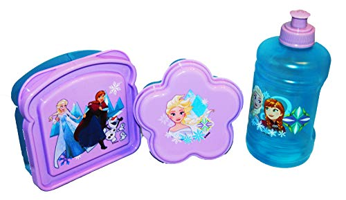 Frozen Sandwich and Snack Container and Water Bottle Set