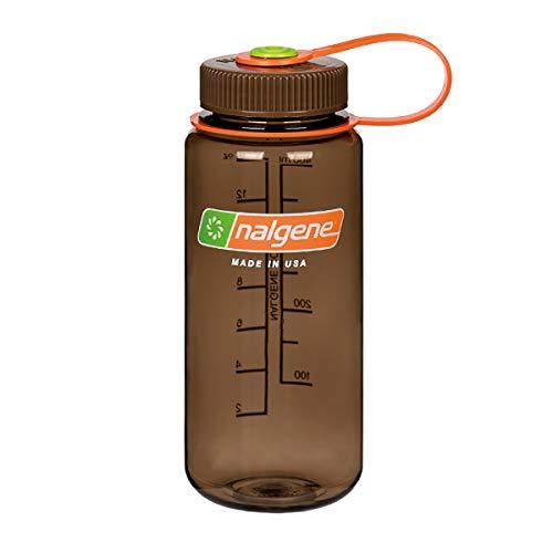 NALGENE ナルゲン 広口 0.5L TRITAN プラスチックボトル 水筒 MADE IN USA(91421 WOODS MAN)ジャグキャップ登山 サイズ