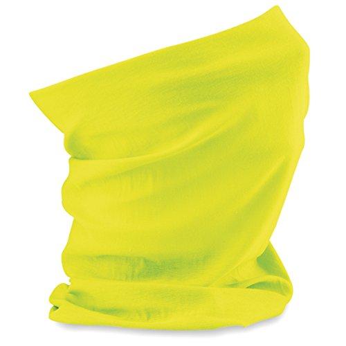 CB900 Schlauchschal Morf(TM) Original Bandana Halstuch Schal, Farbe:Fluorescent Yellow, Größen:One Size