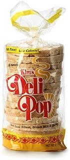 Kim's Magic Pop Deli Pop Rice Cakes | Original Flavor | 12 Pack | 2.9 Ounce Bag | Keto, Paleo, Multigrain, Natural Vegan | Sugar Free Korean Snack | Low Calorie, Low Fat, Whole Brown Rice