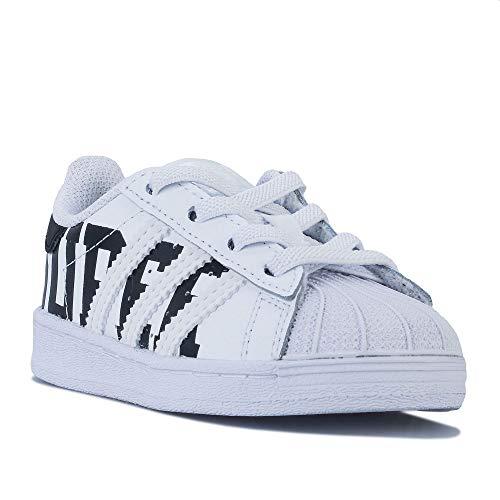 adidas Superstar EL, Zapatillas Deportivas, Blanco (Footwear White/Core Black/Footwear White),