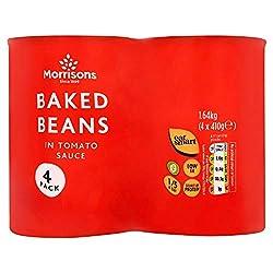 Morrisons Baked Beans 4x410g