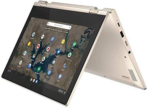 "Lenovo Chromebook Flex 3 11.6"" HD (1366 x 768) TouchScreen 2-in-1 Laptop, Intel Celeron N4020, 4GB DDR4, 64GB eMMC, Webcam, WiFi, Bluetooth, MicroSD Card Reader, Chrome Os, GCube 64GB Micro SD Card"