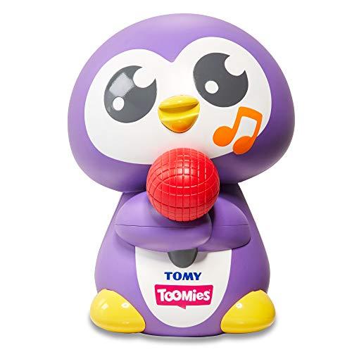 TOMY Toomies E72724C Pfeiffender Peryn Baby Sensory Toy for Boys and Girls Spielzeug, lila