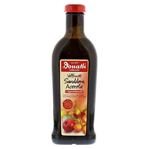 Donath Full Fruit Seabuckthorn Acerola and Agave Thick 500 ml Juice