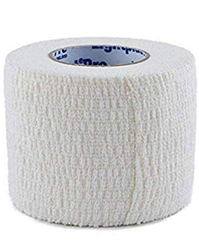 Tensoplast Elastic Athletic Tape, Provides Medium Support or Compression with High Adhesive Properties, Water Repellent and Air Permeable, White, 3' X 5 Yards, Roll
