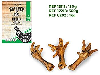 Nobby Nourriture pour Chien Pattes de Poulet Nature 1 kg