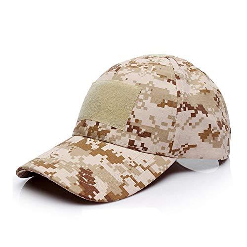 Pvnoocy Tactical Baseball Cap, Fashion Baseball Cap Armee Military Camo Tactical Cap Sonnenhut Hats für Wandern Camping Angeln Outdoor, Desert Digital