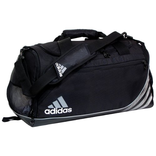 adidas Unisex Team Speed Small Duffel, Black, ONE SIZE