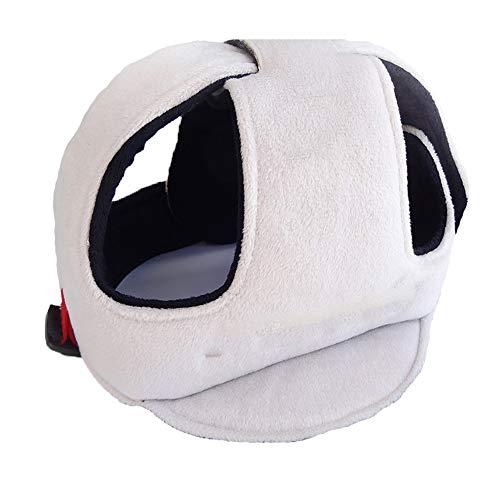TrifyCore Kinder Shatterproof Cap Verstellbare Schutzhelm Baby-Sicherheits-Kopfbedeckung Stoßfestes Kopfschutz Breathkopfschutz für Kleinkinder Lernen Grey to Walk