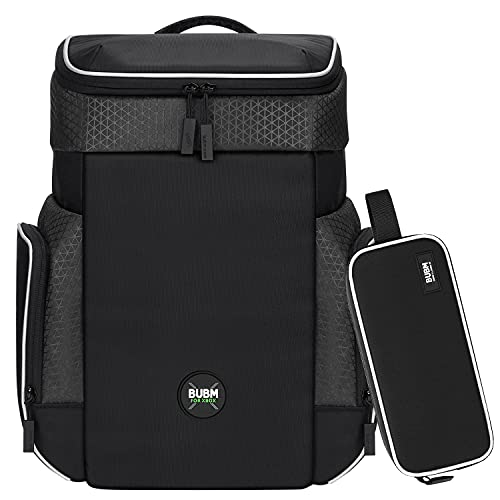 BUBM Xbox Series X Backpack, Travel Carrying case with Electronics Organizer Bag Storage for Xbox Series X Console,Controllers,Cables,Charger and Other Gaming Accessories
