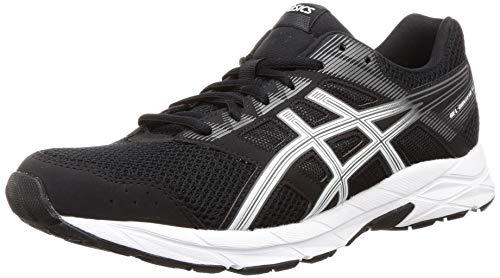 ASICS Men's Gel-Contend 5b Black/White Running Shoes-10 UK (45 EU) (11 US) (1011B083)
